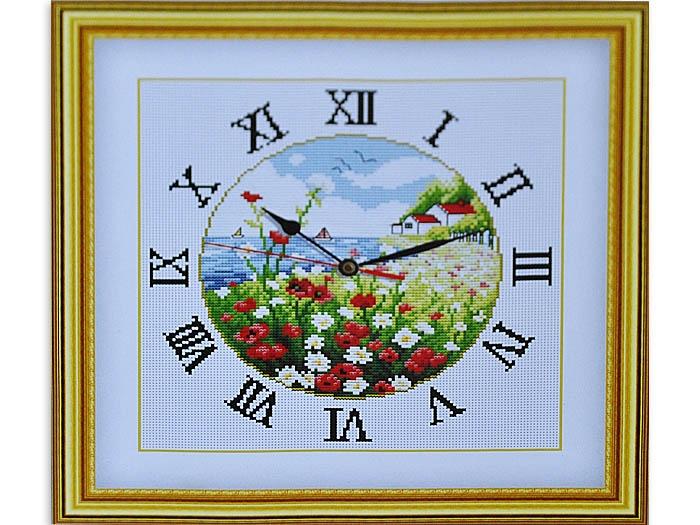 Наборы по вышивки крестом часы